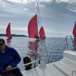 1. regata JK Odisej Fareast 28R – poročilo